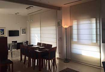 Roman Shades Project | Santa Clarita Blinds & Shades, LA